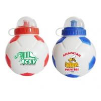 China 850ml football style water bottles for World Cup, plastic sport water bottle wholesale