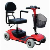 China 2018 newest light weight folding automatic aluminum  4 wheel electric scooter lithium battery chinese supper supplier wholesale