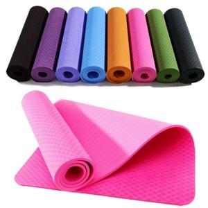 China Durable Elegant Foldable PVC Gymnastic Floor Mats For Yoga / Pilate wholesale