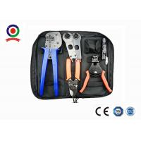 China Black Bag  Crimping Tool Kit Solar Photoroltaic Connector For Solar System wholesale