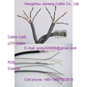 China UTP Cable Cat5e CAT6 CAT3,Enternet Cable,Patch RJ45 on sale