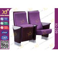 China Commercial Furniture Multiplex Church Auditorium Seating Polywood + Foam Inner Panel wholesale