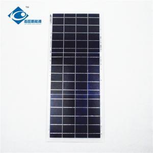 China 6V Residential Solar Power Panels 15 Watt Peak Power Glass And Plastic Frame wholesale