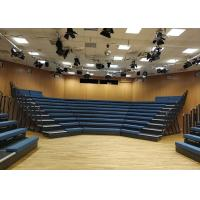 China Custom Engineered Portable Seating Systems , Lecture Theatre Seating For Exercise Center wholesale