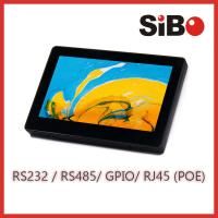 "Wall Mountable 7"" Screen Size Android Touch Panel With POE Temperature Sensor"
