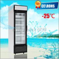 China One Door Small Glass Door Freezer -25 Degree Dynamic Cooling Eco Friendly wholesale
