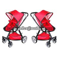 China High view baby stroller, baby stroller with car seat on sale