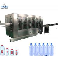 China Bottled water filling machine pure mineral soda spring water bottling equipment plant factory production line monoblock on sale