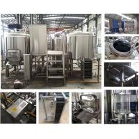 China 0.15 - 0.3Mpa 800l Micro Beer Brewing Equipment SS304 / 316 / Copper Material wholesale