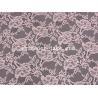 China Mesh Flower Stretch Lace Fabric Nylon Spandex Materail Fashion Design SYD-0178 wholesale