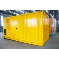 China Soundproof Silent Diesel Generator Set 2500kva 400 / 230V AC Three Phase Output wholesale