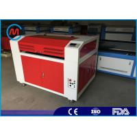 China Compact 80w Co2 CNC Tabletop Laser Cutter For Wood 600 x 900mm Cutting Area wholesale