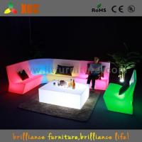 China Outdoor Color Changing LED Light Sofa , Home Decoration LED Sectional Sofa on sale