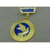 China 3D Brass Die Stamped Custom Awards Medals Hard Enamel 100mm * 70mm wholesale