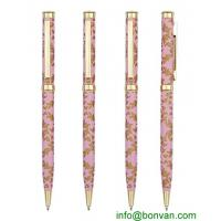 China full color printed metal ball pen for promotional use wholesale