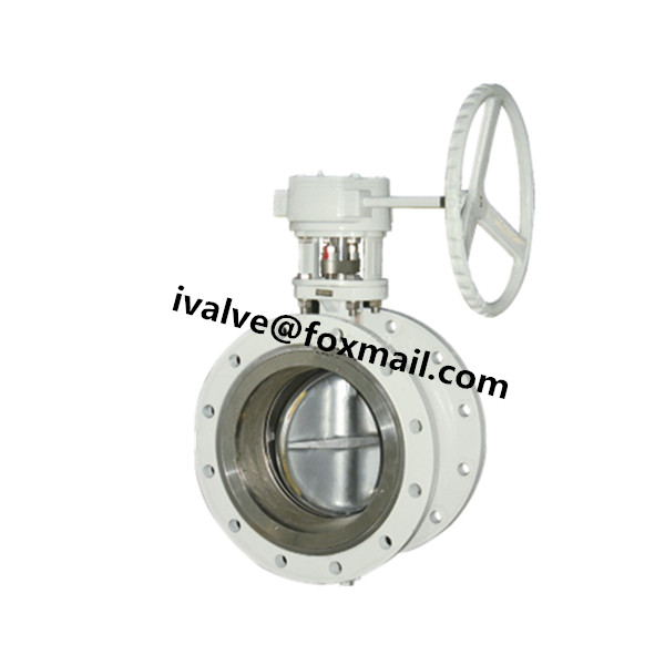 Quality Double Flanged Carbon Steel Butterfly Valve for sale