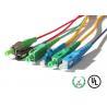 China Cordón de remiendo de la fibra óptica del conector wholesale