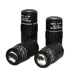 China M Plan Apo L 5X, 20X, 50X Microscope Objective Lens, Lenses HL95 on sale
