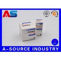 Matt Oral Steroids 10ml Vial Boxes Embossed Vial Case 10mL Packaging For Bodybuilding