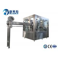China Plastic Bottle Carbonated Drink Filling Machine  With Washing Filling Capping Part wholesale