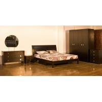 Good Quality Home Furniture,Panel Bedroom Suite,Bedroom Set,Wood Bed and Wardrobe,Nightstand,Dresser with Mirror,Amorie