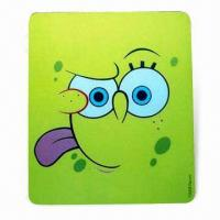 China Mouse Pad in Various Colors, Designs with Silkscreen Printing, Made of EVA and PVC wholesale