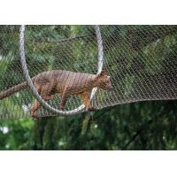 China High-strength Stainless Steel Wire Rope Mesh Fence for Animal Cages wholesale