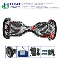 China Waterproof Black Off Road Hoverboard With Smooth Function , Original Samsung 4.4Ah wholesale