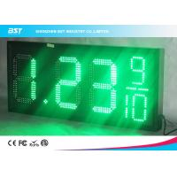 Buy cheap 18 Inch Large Led Gas Station Price Display , Gas Price Sign Numbers from wholesalers