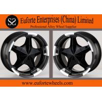 China 17inch 5x150 off road wheels 17x8 / 8Jx17 Black SUV Wheels For Toyota Tundra  Sequoia wholesale