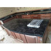 China Veins Luxury Quartz Prefab Stone Countertops For Kitchen Dinning Table wholesale