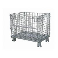 Alibaba Folding Stainless Steel Wire Mesh Container