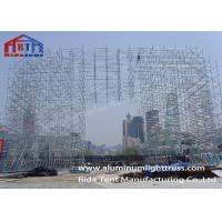 China Speaker Stands Layer Truss , Durable Grid Frame Structure 6m - 12m Normal Height on sale
