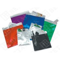 China Red / Blue / Green PE Film / Aluminum Foil Envelopes With Self Seal Closure wholesale