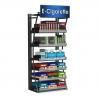 China Montages debout libres d'affichage de magasin de coffret d'étalage de cigarette de contemporain pour la vente au détail wholesale