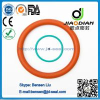 China Silicone O Rings of size range AS 568, JIS2401 on Short Lead Time with SGS CE ROHS FDA Cetified(O-RINGS-0080) wholesale