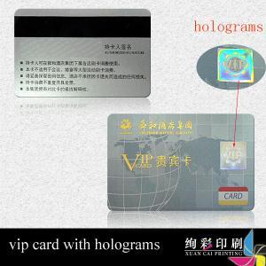 China Pantone Color Dual Interface Smart Card UV Printing For Beauty / SPA wholesale