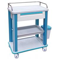 China ABS Clinical Medical Equipment Trolley BT-CY002 With Casters And Drawers wholesale