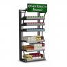 China Distributeur aérien de cigarette de coffret d'étalage de cigarette de cadre en acier pour le magasin de fumée wholesale