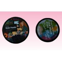 custom full color round paper self- adhesive label sticker with arttwork printing