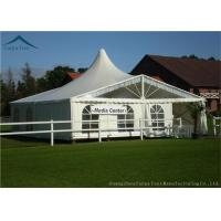 China Luxury Custom Event Tents For Parties With Colorful Linings Flame Retardant wholesale