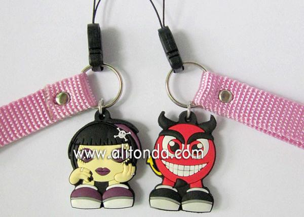 Quality Girls gifts mobile phone strap promotional phone pendants custom for phone promotional gifts for sale