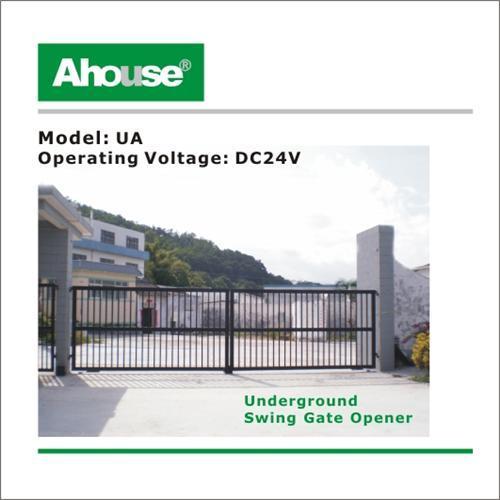 Gates underground swing gate opener door