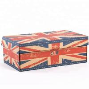 China Glossy Lamination Custom Logo Printing Corrugated Shoe Box wholesale