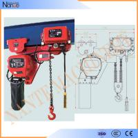 China 250kg - 50ton Manual Chain Hoists , Construction Wire Rope Electric Hoist wholesale