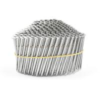 China Electric Galvanized Treatment 1-1/4-Inch x 0.092-Inch Full Round Head Pallet Coil Nails wholesale