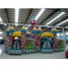 China Os jogos infláveis exteriores do jardim de infância/parque tornam 12 * 10m wholesale