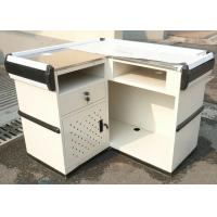 China Supermarket Stainless Steel Cashier Counter Desk wholesale