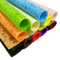 China Colorful Embossed polypropylene Nonwoven Embossed Fabric For Flower Wrapping,bag wholesale