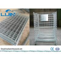 China storage Collapsible wire cage  with 3 ~ 4 layers for saving more space wholesale